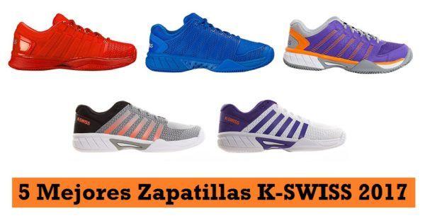 5 Zapatillas Nuevas de K-SWISS para PÁDEL ¡Muy RECOMENDADAS! #padel http://blgs.co/5pi2ym
