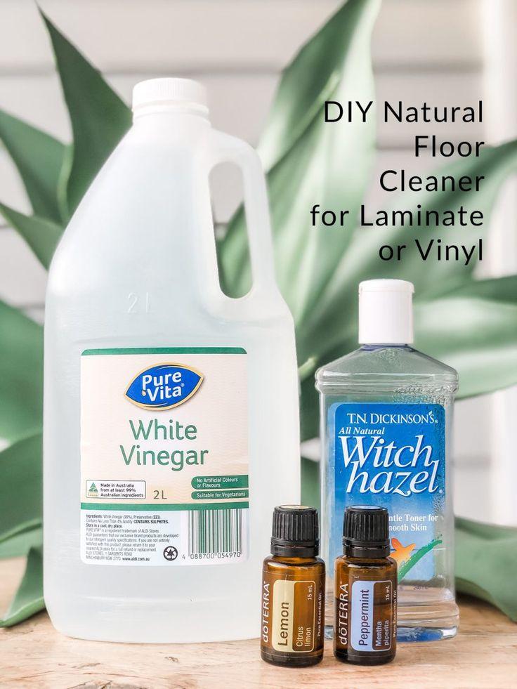 DIY Natural Floor Cleaner for Laminate or Vinyl Natural