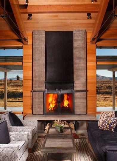 1000 Ideas About Modern Lodge On Pinterest Cabin Log