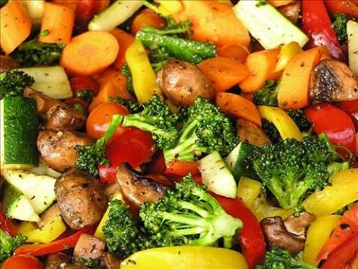 Virtually all nutrients humans need can be supplied easily from vegetables.