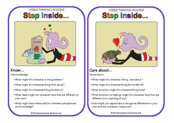Thinking Routine: Step inside