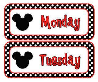 Disney themed classroom? Freebies to print
