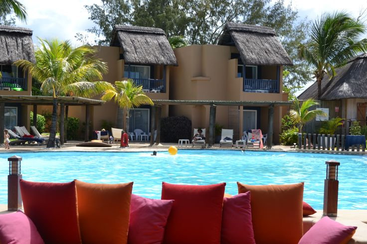 The main pool at Veranda Pointe aux Biches, Mauritius.