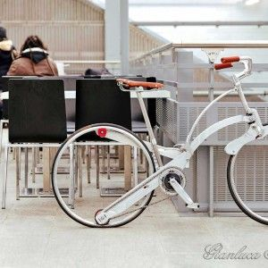 Gianluca Sada Bike - Hubless and Foldable