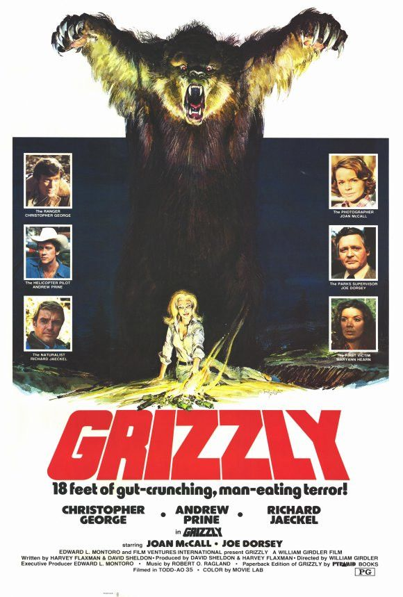 Grizzly 27x40 Movie Poster (1976)