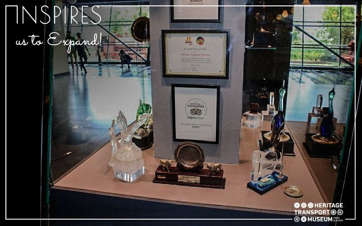 Selection of Awards achieved by Heritage Transport Museum over the span of three years since its opening!   #Heritage #TransportMuseum #Awards #Museum #IncredibleIndia