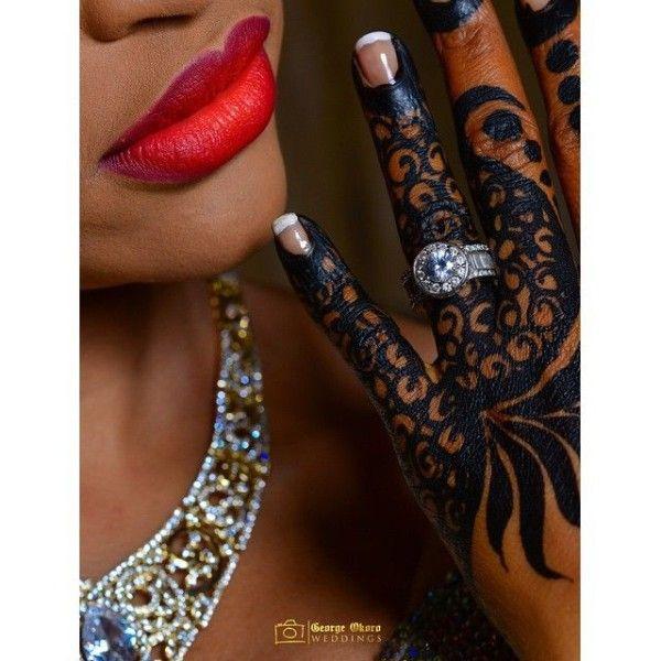 25 Stunning Images of Traditional Kenyan and Nigerian Bridal Henna Tattoos