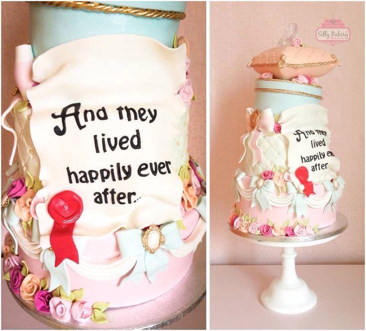 Fairytale wedding cake  www.sillybakery.nl