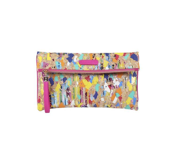 #Pochette 'Petit Battement' Multicolore Liège- Repetto #paris #fashion
