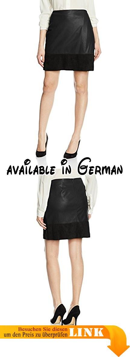 Comma Damen Rock Kurz, Schwarz (Black 9999), 40.  #Apparel #SKIRT