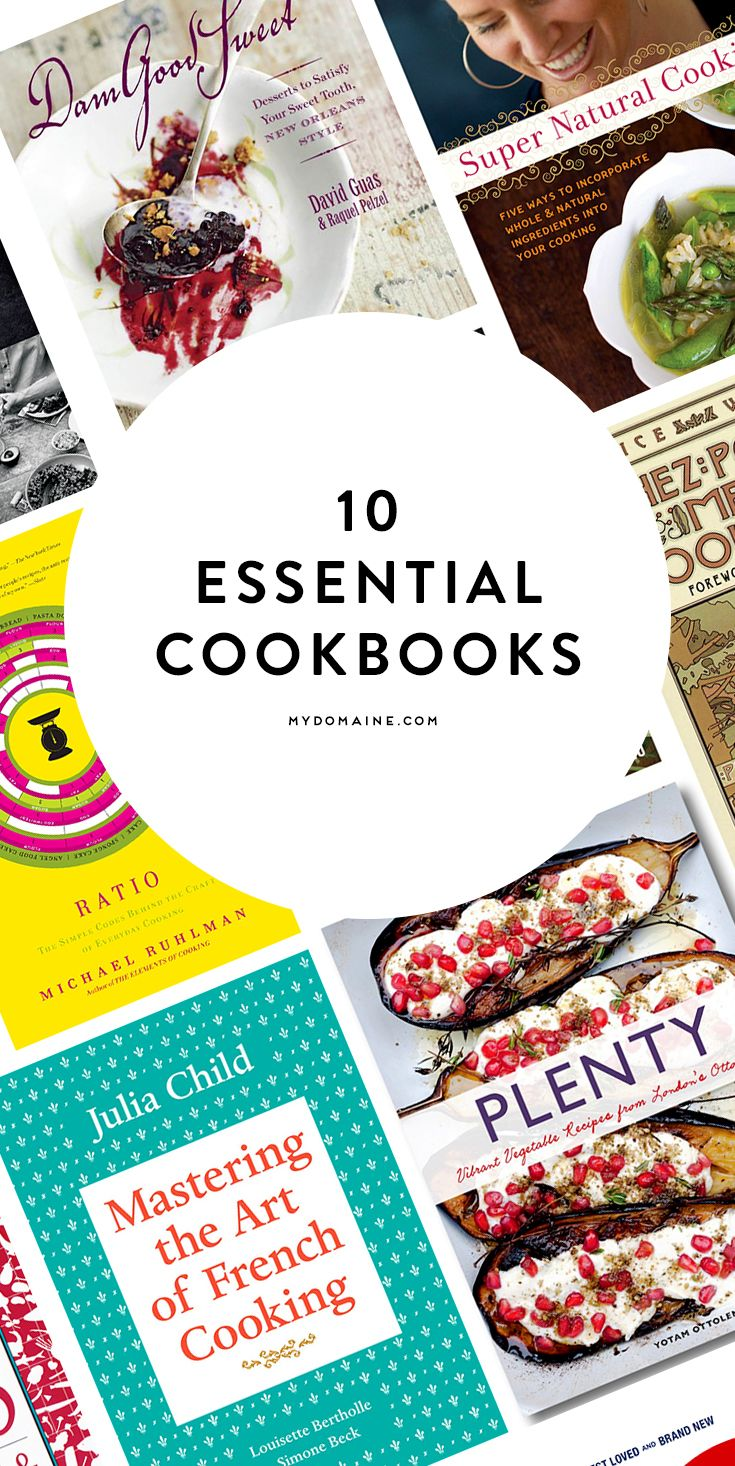 You need these cookbooks in your kitchen