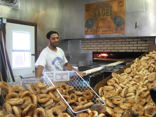 Fresh Montreal bagels - the best!!