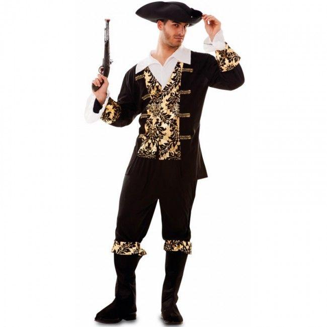 Déguisement Pirate Doré homme  #costumespouradultes #nouveauté2018