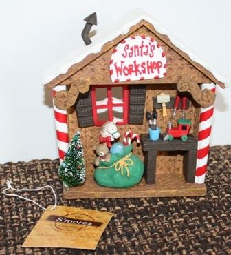 Christmas Decor - Smores Santa's Workshop