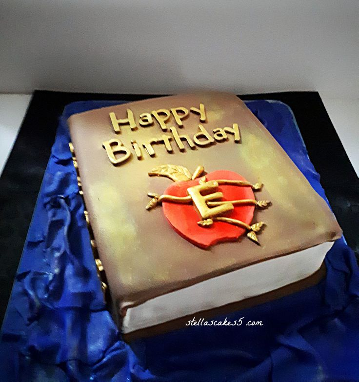 Theme Cake  Spell Book