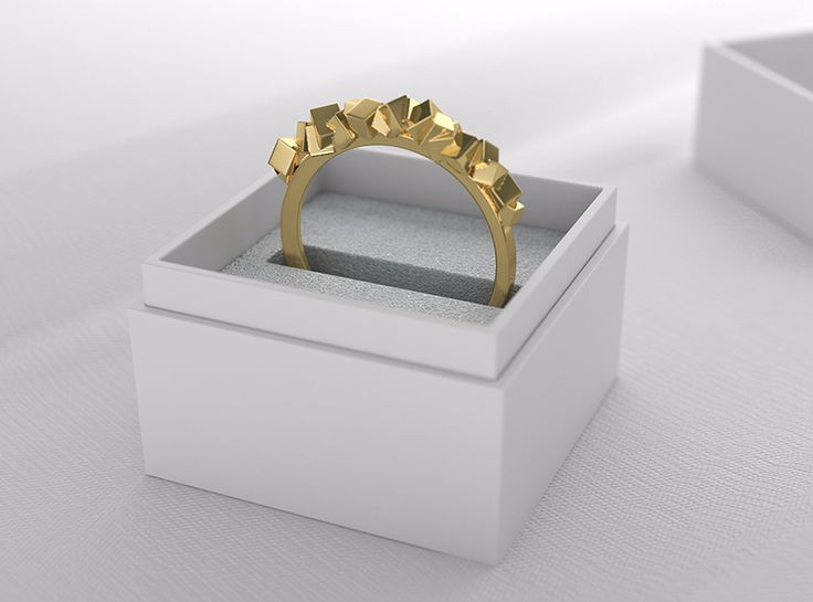 Stone ring - a 3D model by VECTARY | VECTARY
