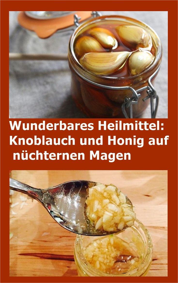 Wunderbares Heilmittel: Knoblauch und Honig auf nüchternen Magen | njuskam!