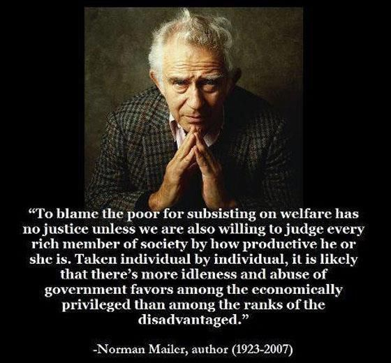 Norman Mailer - Wow! Couldn't be better articulated!
