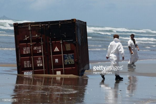 Billedresultat for container washed ashore