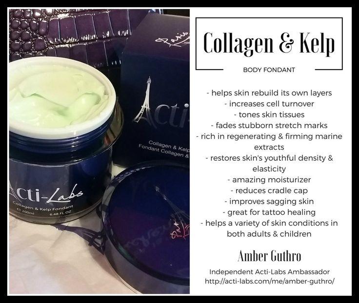 Collagen & kelp body fondant #skincare #collagen #actiamber #beauty