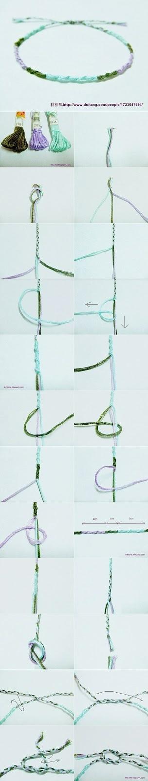 How to Make a Macrame Bracelet