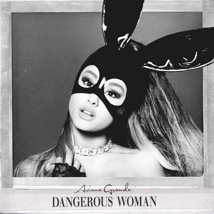 "Ariana Grande ""Dangerous Woman"" Album Cover"