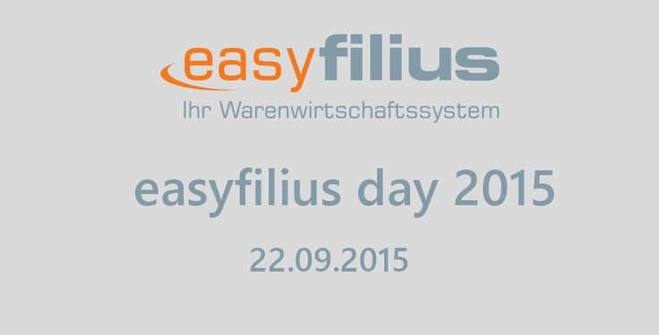 easyfilius day 2015 bei KOMSA Data & Solutions