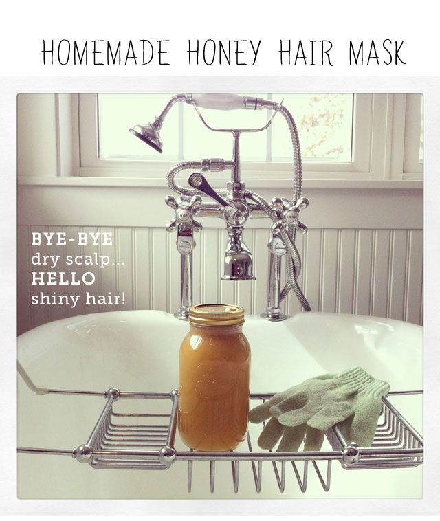 Homemade honey hair masks: perfect for soothing scalps and getting shiny hair (great for the kiddos too!)