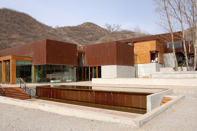 corten.  Commune - Seung H-Sang - Clubhouse, Beijing, China.