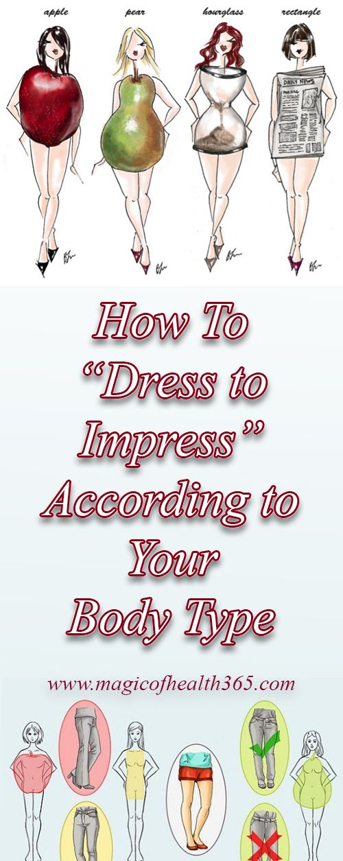 "How To ""Dress to Impress"" According to Your Body Type"