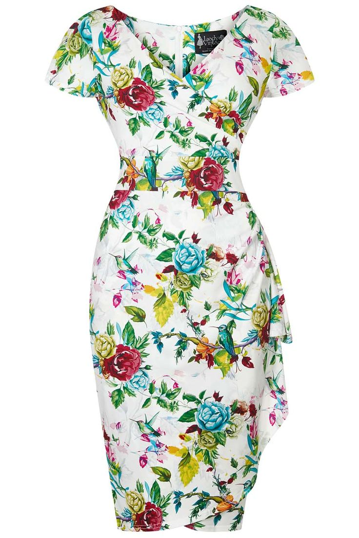 Romantic Roses Elsie Dress : Lady Vintage