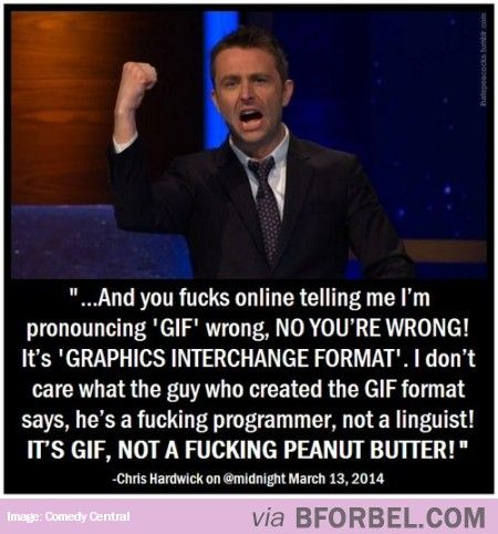 "So Is It Pronounced As ""GIF"" Or ""JIF""?"