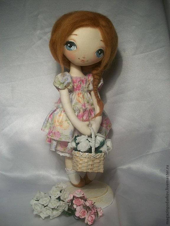 Muñecas de colección hechos a mano.  Masters Fair - hecho a mano muñeca interior Mariska.  Hecho a mano.