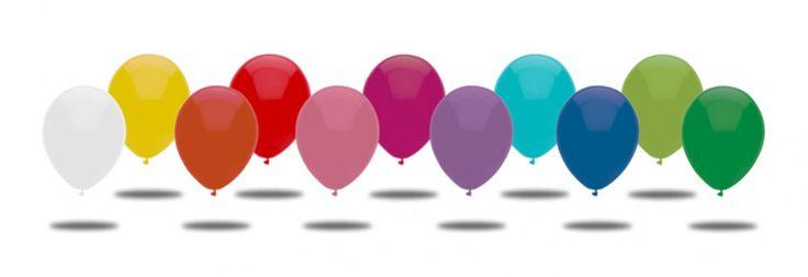 Balónky nafukovací, průměr 19 cm - pastelové barvy A70