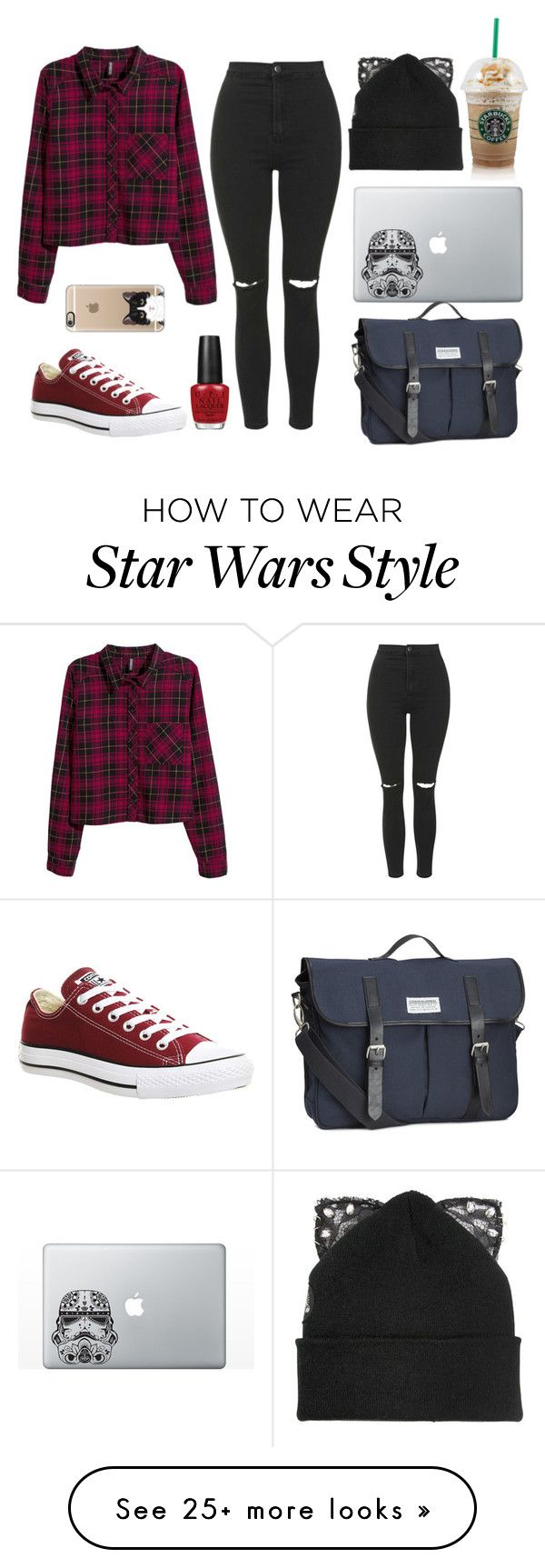 """""""Sunday"""" by fairymanny on Polyvore featuring Topshop, H&M, Converse, OPI, Silver Spoon Attire and Casetify"""