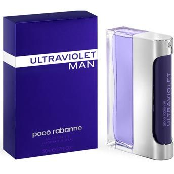 One of my favorite colognes, Ultraviolet Man by Paco Rabanne