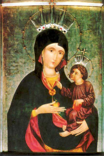Piekary Slaskie-Obraz Matki Boskiej Piekarskiej –Poland