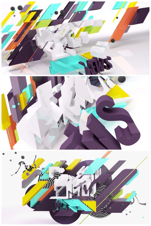 Motion Graphics/ Storyboards idea | MTV NEWS by James Chiny