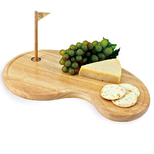 We'd love to have this Golf Green Cutting Board in our kitchen! #golf #lorisgolfshoppe