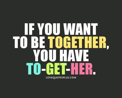 Love quotes for her, together <3 this!