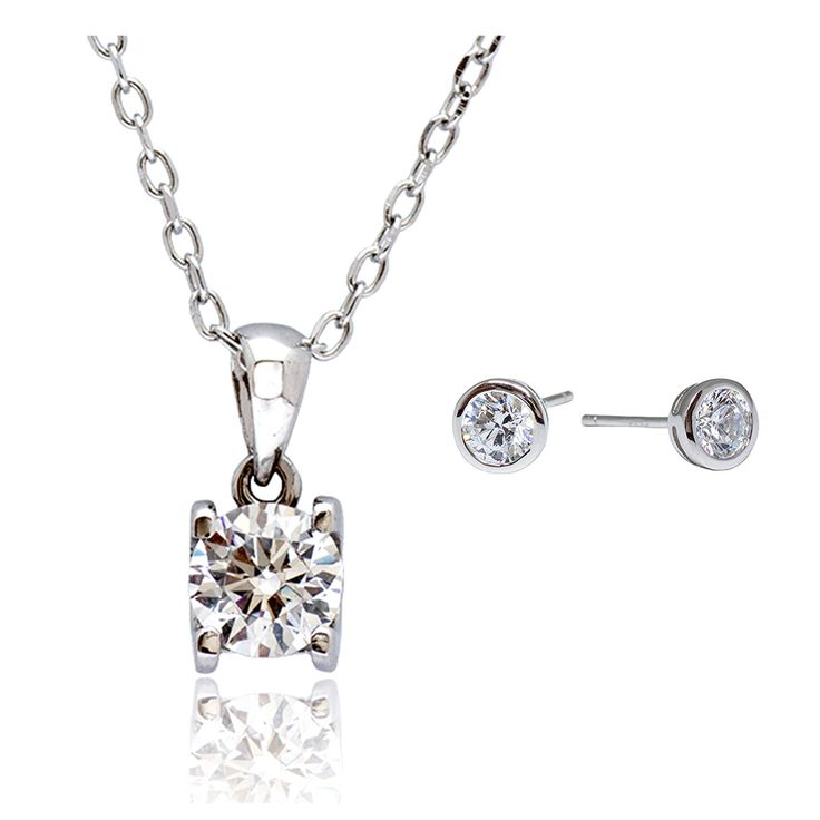 Premium Solitaire Gift Set M/W SWAROVSKI Zirconia - Online shopping for Premium Solitaire Gift Set. Wholesale welcomed. 28Mall only sells original brands items. Get up to US$28 HongBao shopping credit for new members www.28Mall.com/s/P37
