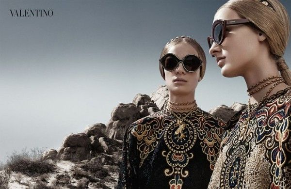 Valentino Spring/Summer 2014 Campaign - GLAMAZON DIARIES