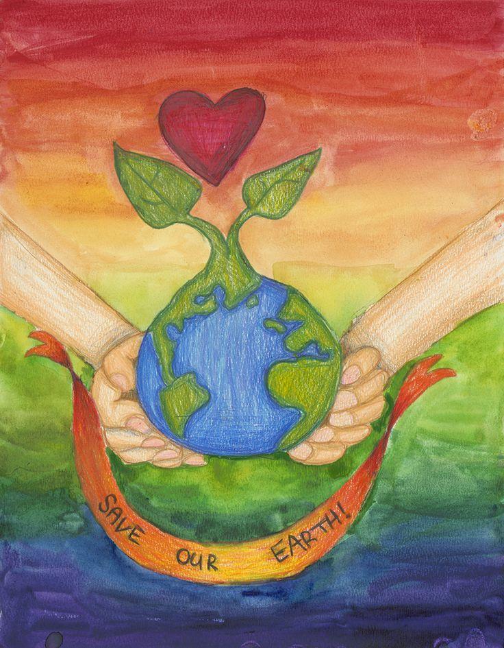 2014 Earth Day Art Contest Winner Stephanie H. 6th Grade ...