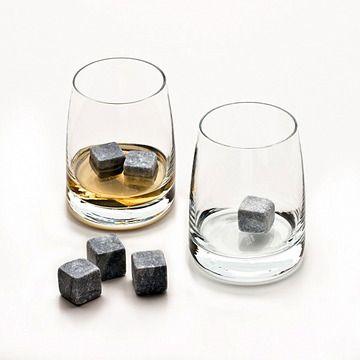 Whiskey Stones, wonderful guy present