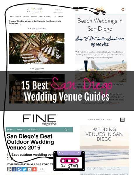 Beach wedding venues san diego county