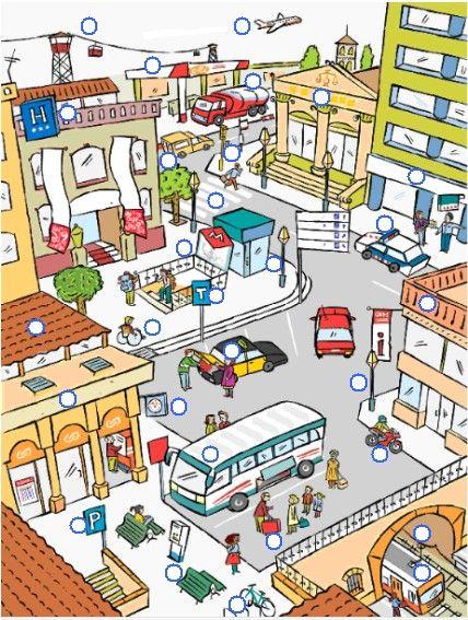 Hablamos.Unidad 3 Material complementario Guía didáctica La ciudad donde vivo Por la calle.Capítulo 6 Láminas .Capítulo 6 En mi ciudad se puede / no se puede La ciudad En la ciudad.Dominó ...