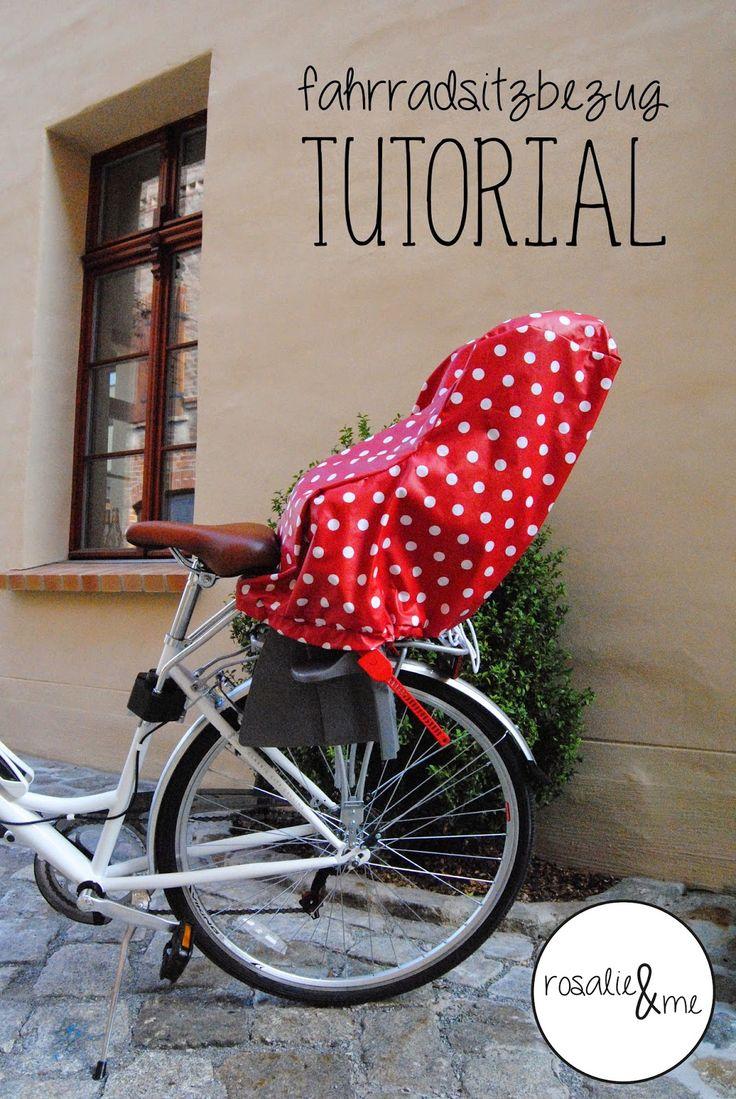 Rosalie&me: Schnitt für Schnitt #1: Einen Fahrradsitzbezug nähen - Römer Jockey