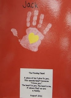 The Kissing Hand, (first week or family unit)