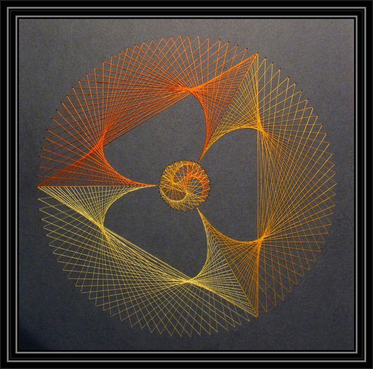 String art 1 - геометрические фигуры