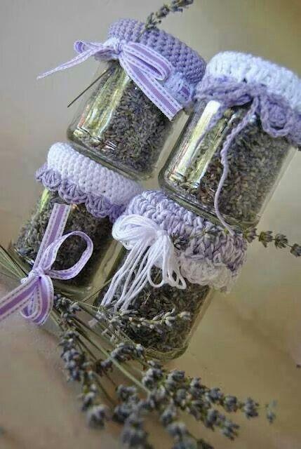 Bottled Dried Lavender <3